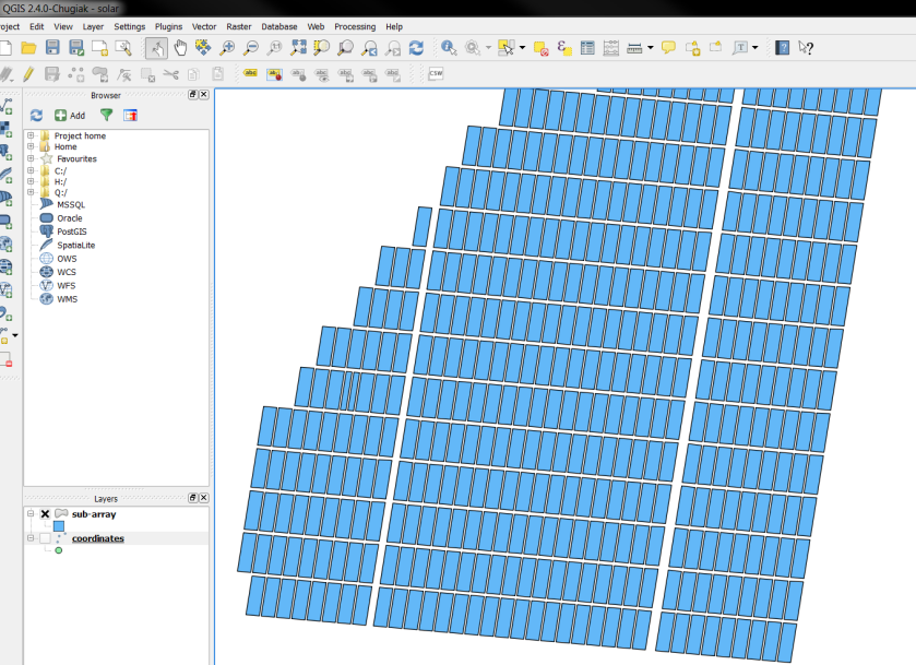 Using QGIS to prepare Custom Maps in PowerBI – Project