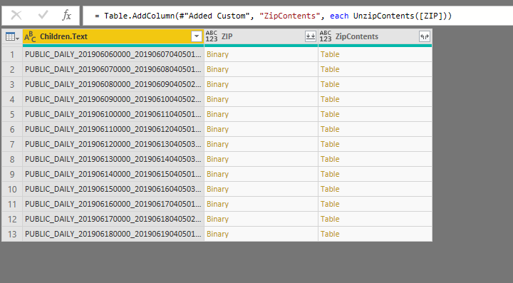 Tracking AEMO data usingPowerBI