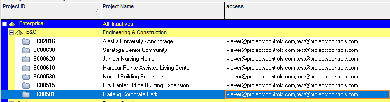 Connecting PowerBI to Primavera, Implement  Row Levelsecurity