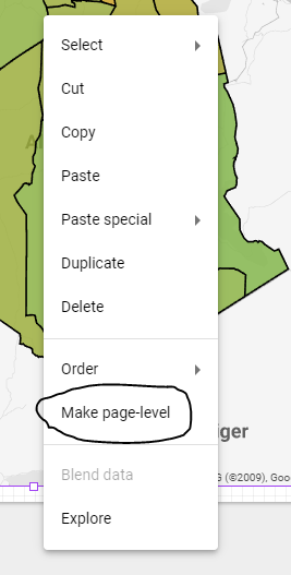 Drill Down to another page in Google Data Studio, the easyway